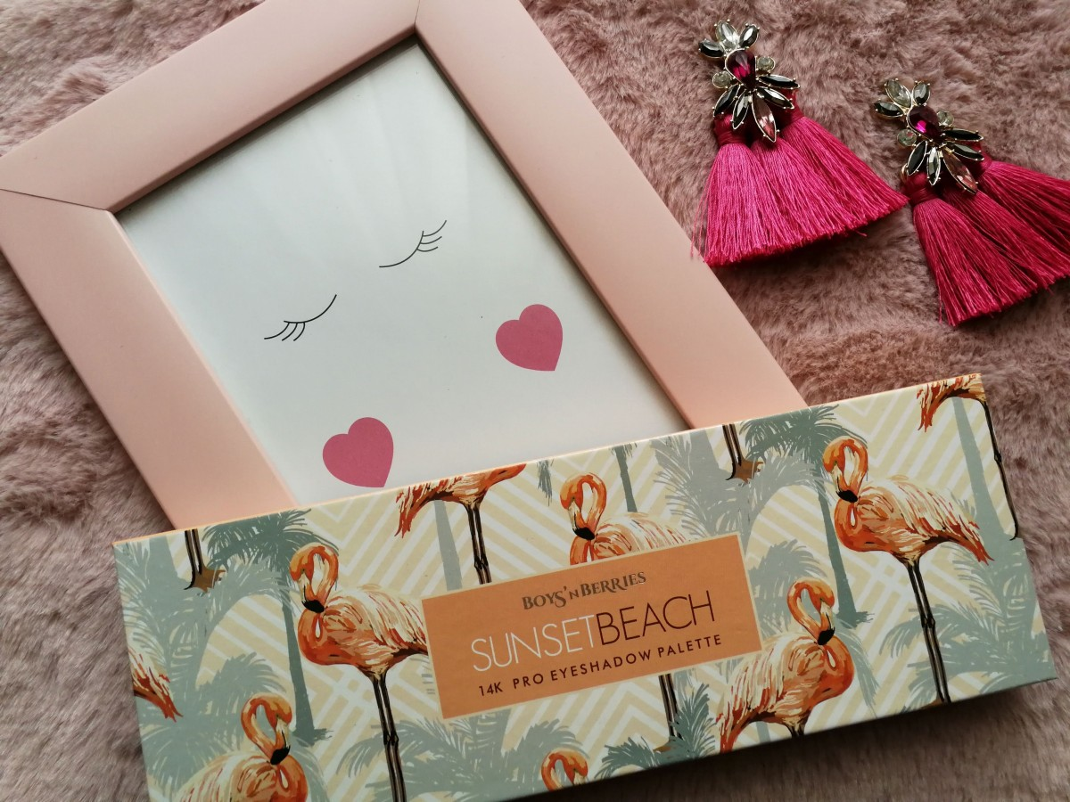 SUNSET BEACH BY BOYS'N BERRIES - SWATCH & MAKEUP